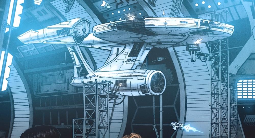 Stra-Tek — stra-tek: An alternate Enterprise-A cutaway...