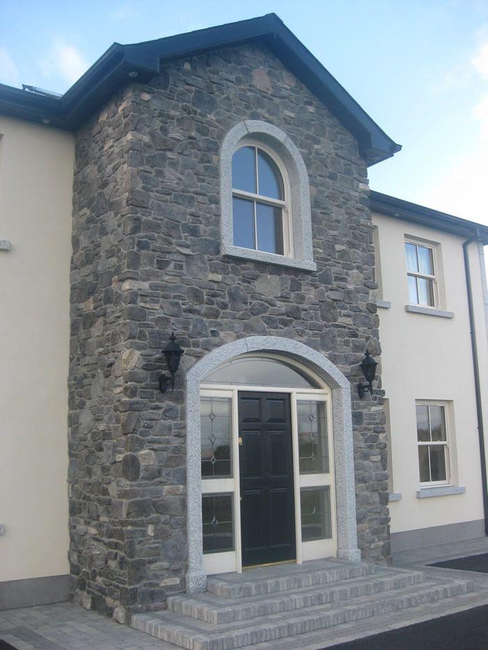Stone facing and stone cladding ireland century stone for Exterior upvc cladding