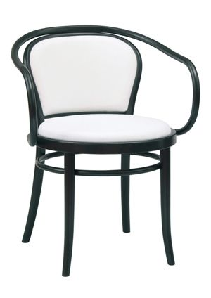 """""""Klassiker Padded Bentwood Arm Chair""""  Available in standard wood tones and premium wood finishes.  Please contact us for pricing (718)363-3097."""