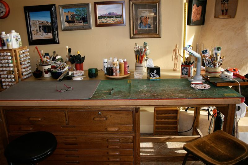 Meet My Parents Kind Of Cosmo Cricket Art Table Art Desk Art Desks