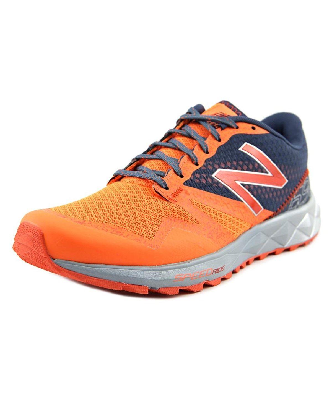 bbb0e485c4 NEW BALANCE New Balance Mt690 Men Round Toe Synthetic Orange Running ...