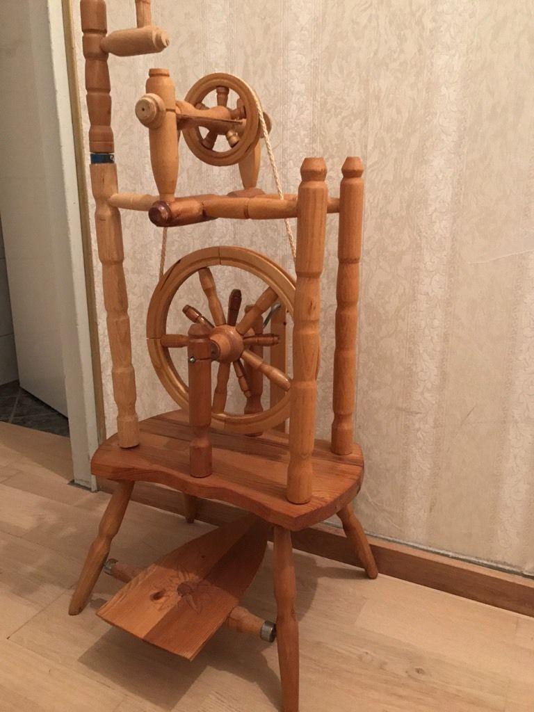 Perfekt für Dekoration geeignet kann auch benutzt werden.  Da gehen schon mal paar Erinnerungs...,Spinnrad ALT WUNDERSCHÖNEN in Bayern - Erding