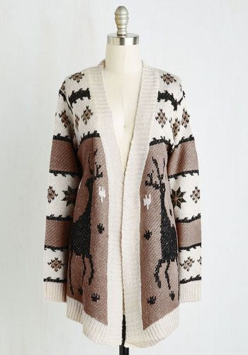 Reindeer cardigan for women | Cute Christmas Sweaters for Women ...