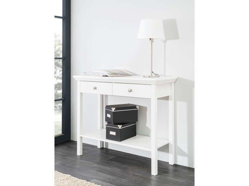 console rectangulaire tina vente de console conforama console. Black Bedroom Furniture Sets. Home Design Ideas