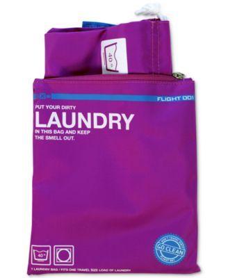 Flight 001 Go Clean Laundry Bag | macys.com