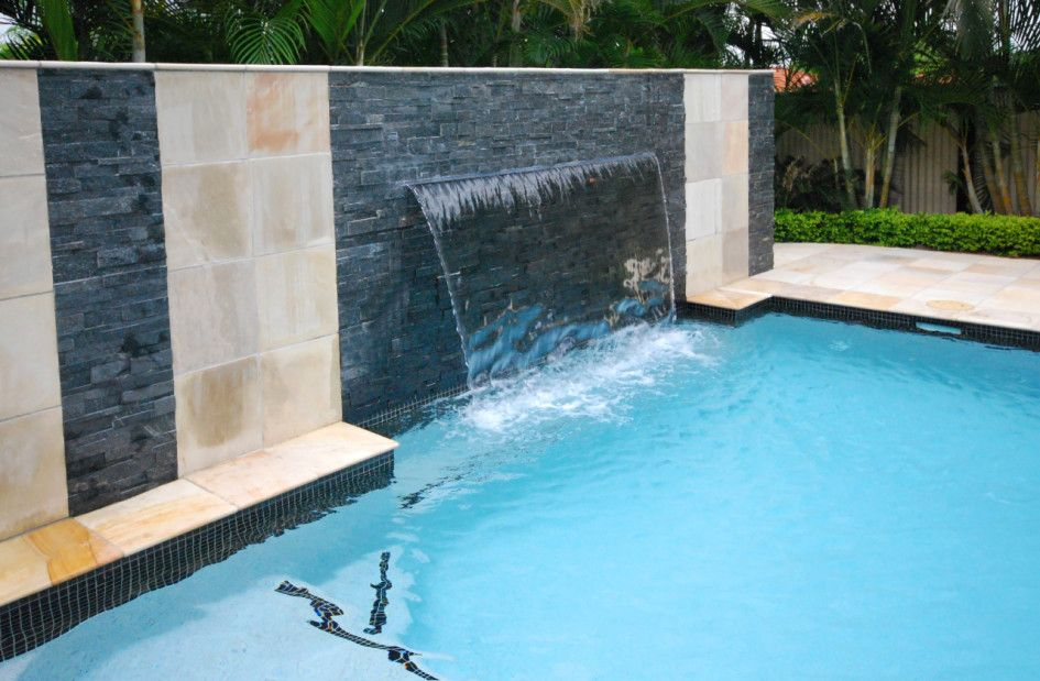 Luxury-Interior-Design-and-Modern-Swimming-Pool-with-Waterfall-and ...