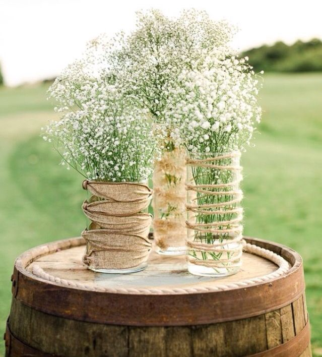 Country Rustic Wedding Altars: Wedding Decorations