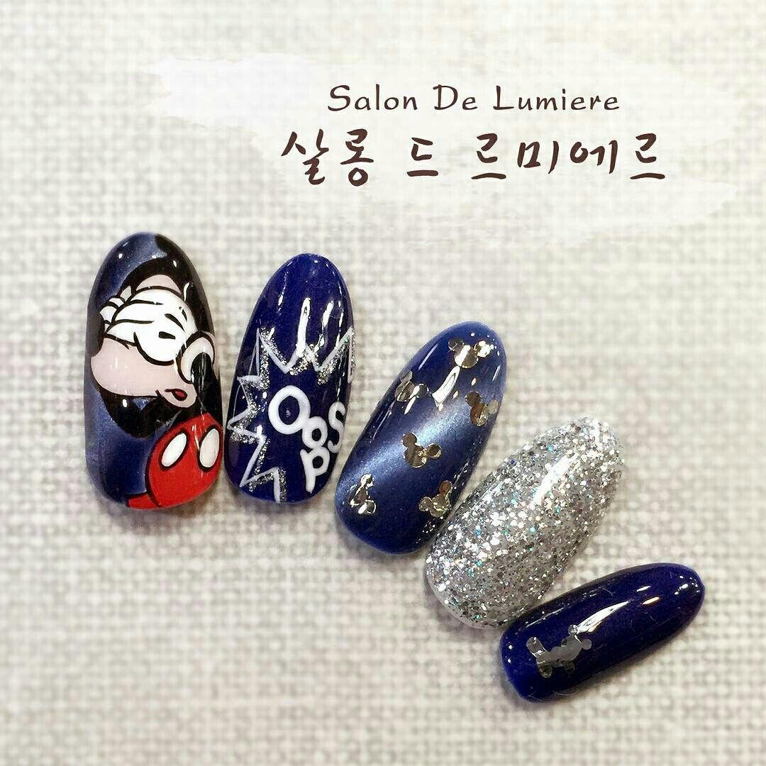 Pin von Kimberly Tan auf cartoon nail   Pinterest