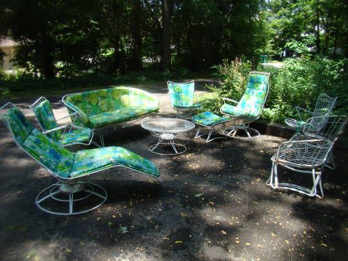 1960 Homecrest Patio set...cool!