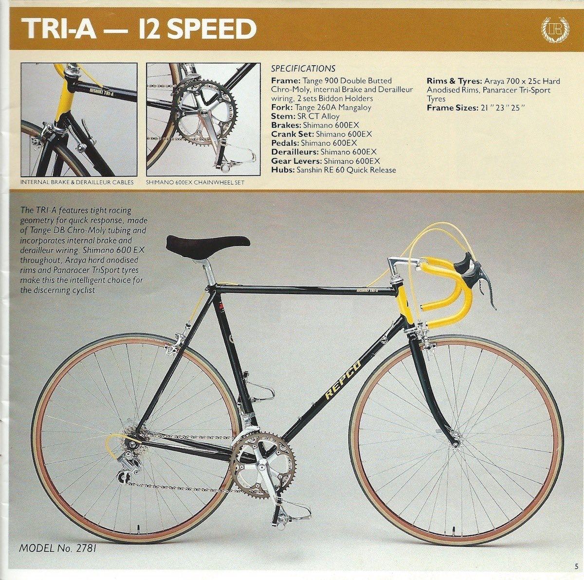Repco Nishiki TriA Bicycle, Tri, Bike