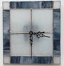 reloj de pared de vidrio