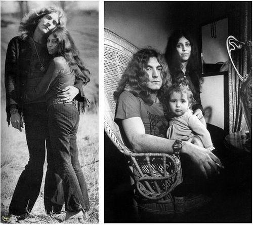 Robert Plant and his wife Maureen / Robert Plant and his wife Maureen and his daughter Carmen