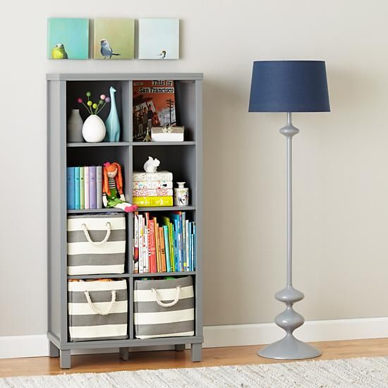 Cubic Bookcase Grey 8 Cube Tall Bookcases Bookcase Cube