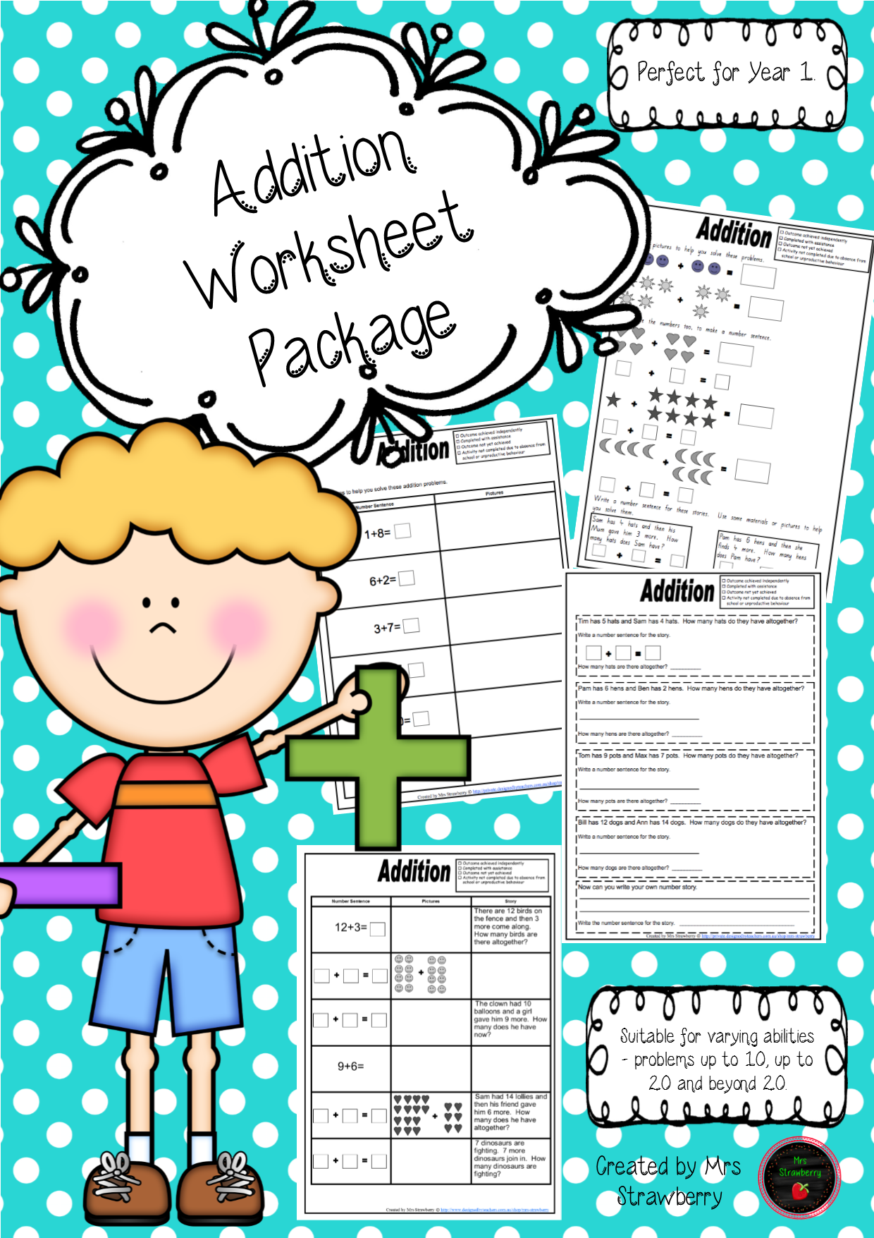 Addition Worksheet Package