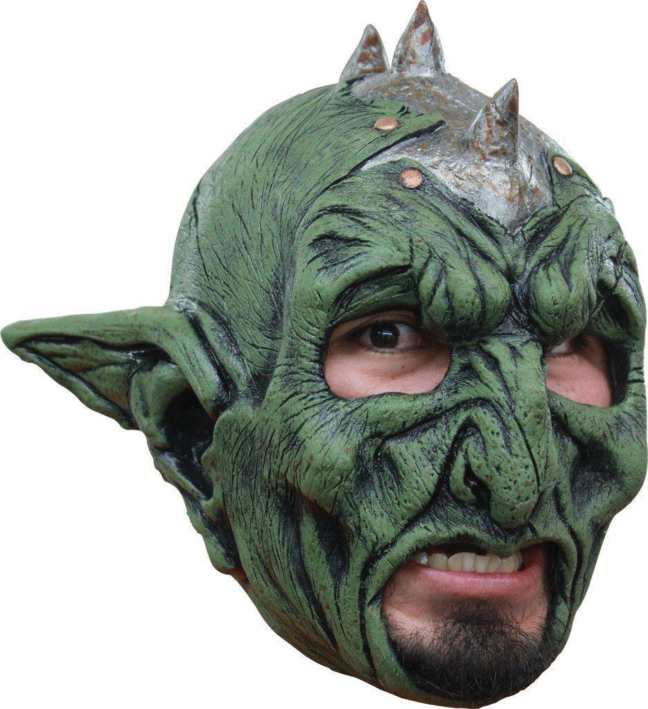 costume mask: orc chinless latex mask | маски | Pinterest ...