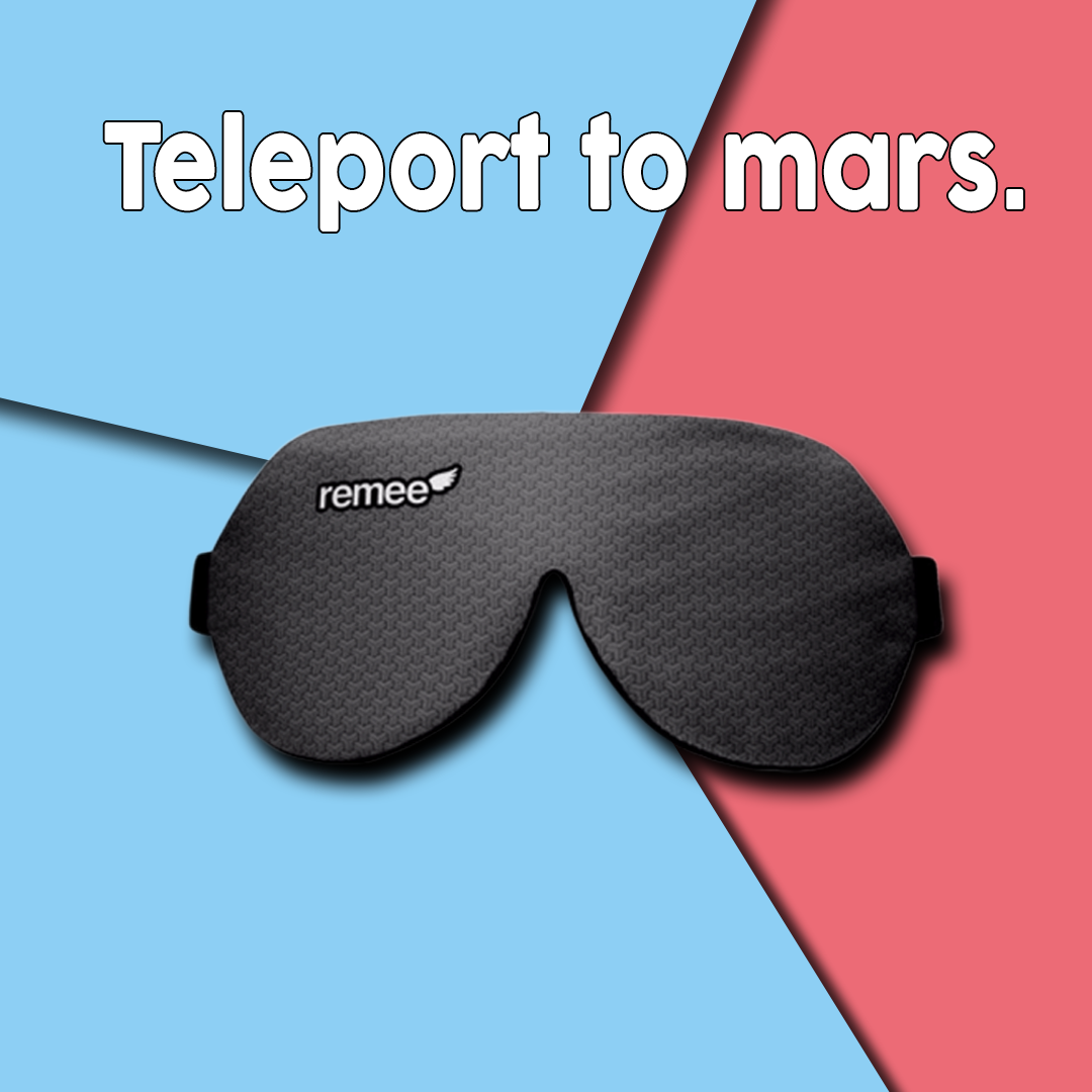 Want to teleport to mars or fly. Dream mask, Lucid dreaming