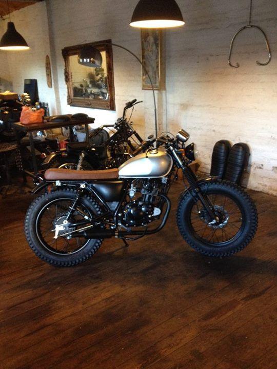 mutt motorcycles 125cc scrambler retro steve mcqueen style motos pinterest motorcycle. Black Bedroom Furniture Sets. Home Design Ideas