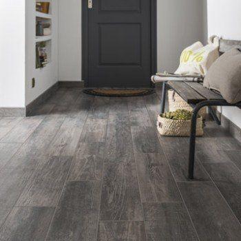 Carrelage Sol Et Mur Gris Effet Bois Fjord L 15 X L 61 Cm Artens Grey Laminate Flooring Old Fashioned House
