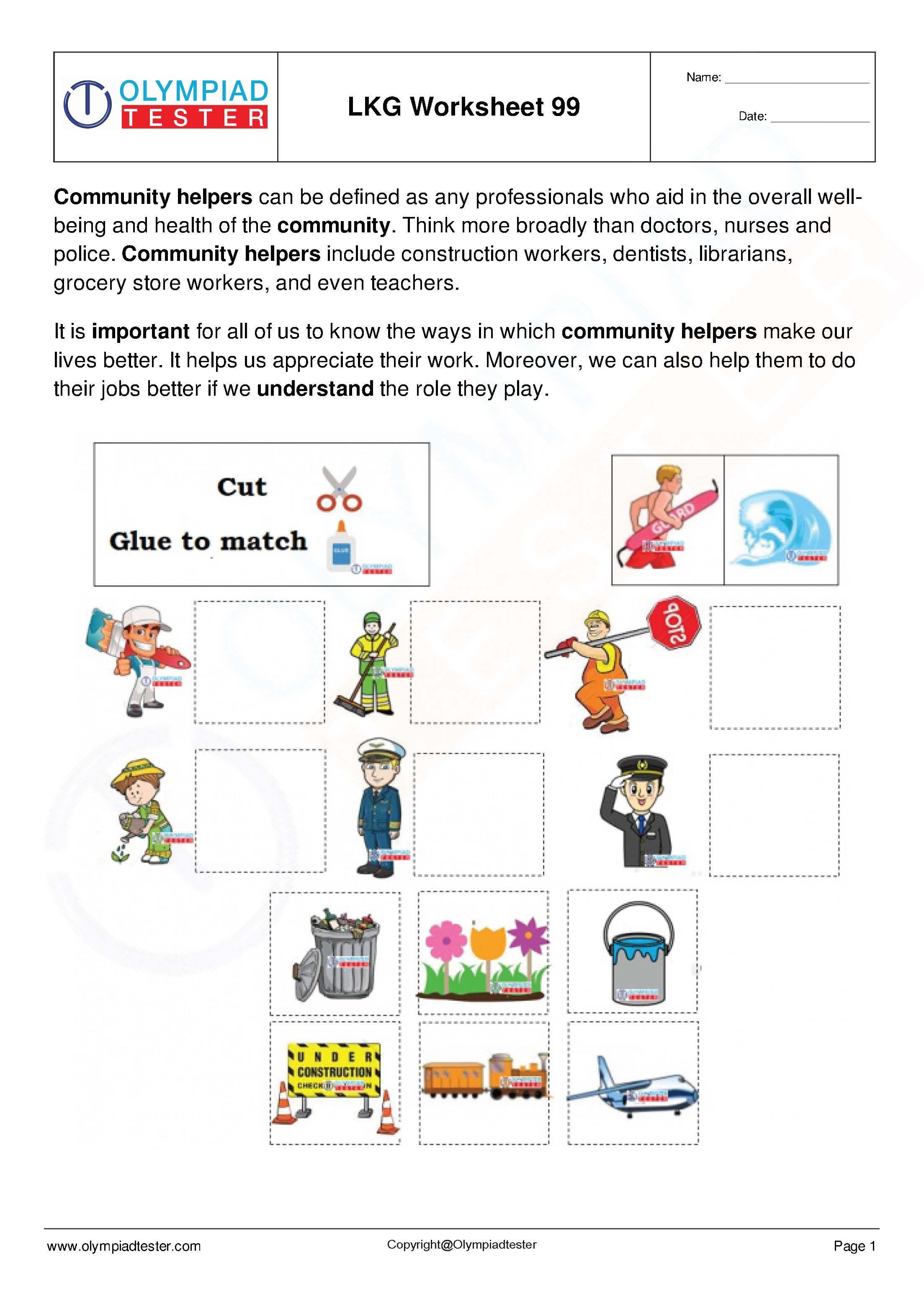 Lkg Worksheets Set 20