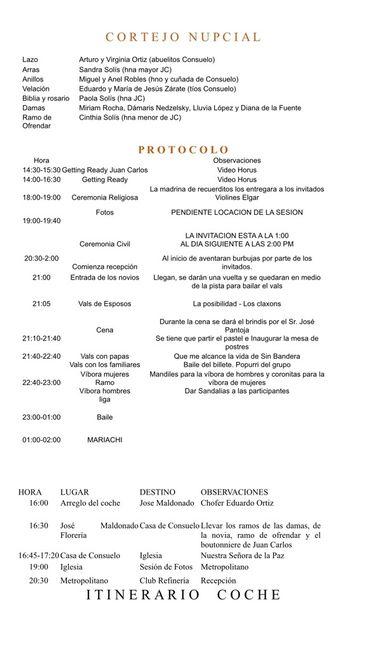 Protocolo Guion Para Maestro De Ceremonias De Boda Recepcion Buscar Con Google