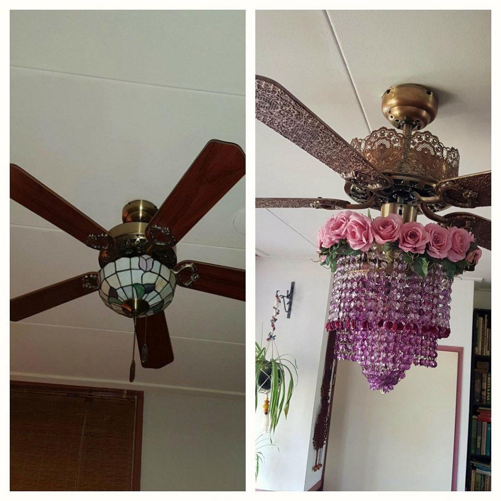 Aislin ceiling fan diy before after   Ceiling fan diy ...
