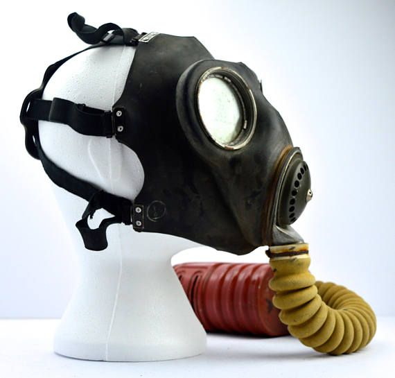 1941 World War Ii Gas Mask Wwii Gas Mask No4a Gas Mask