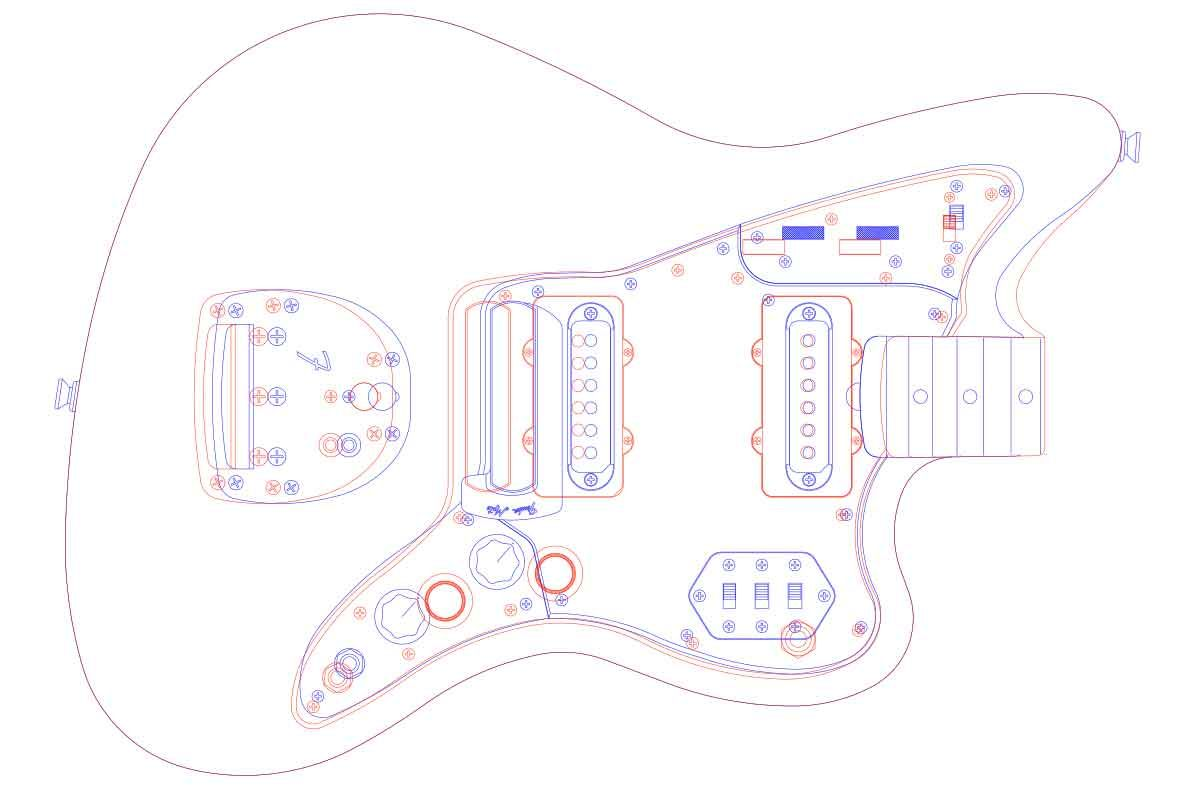 small resolution of fender jazzmaster guitar templates electric herald