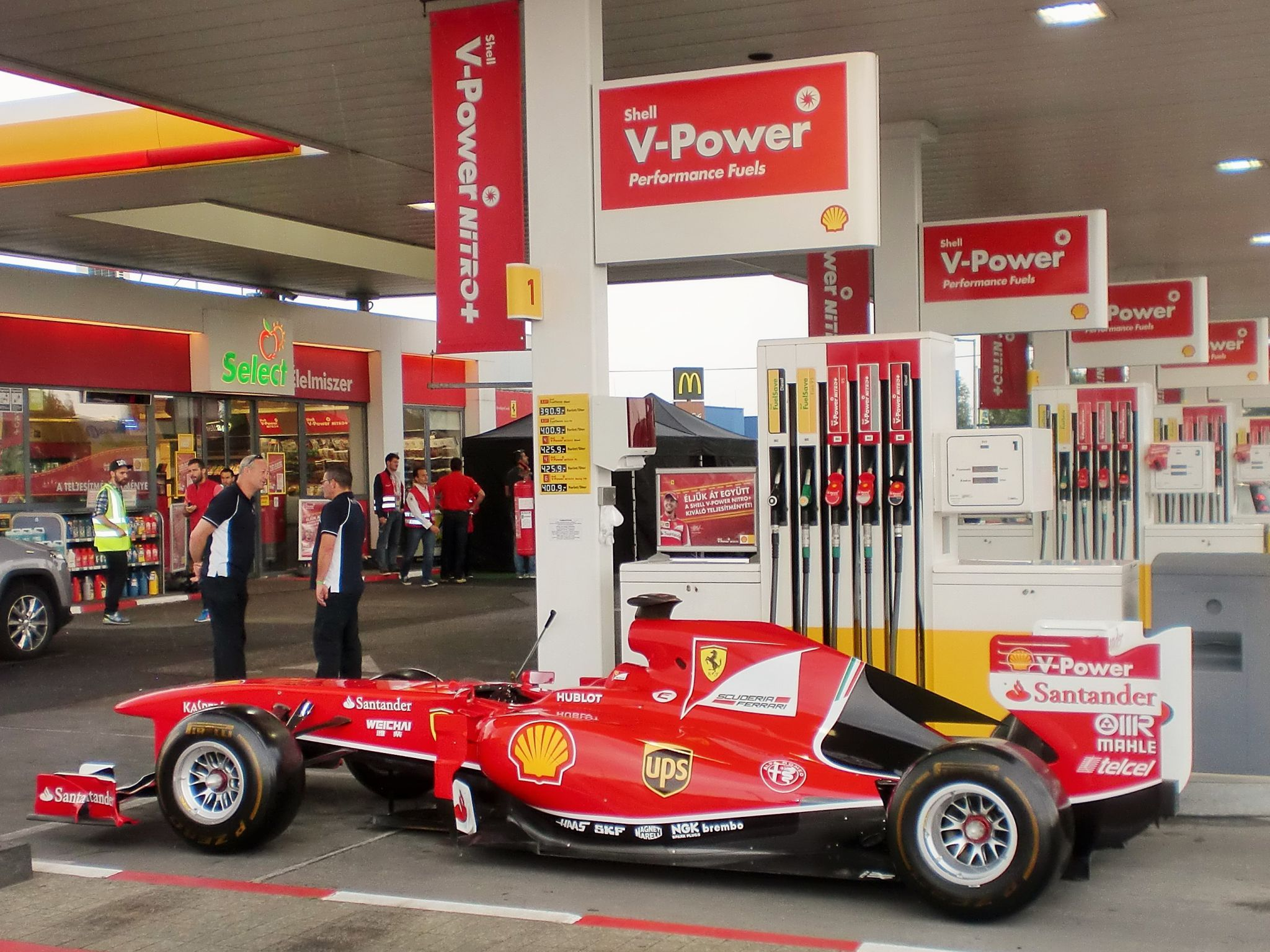 Shell V Power Just Another Day At A Shell Station With Sebastian Shell Station Event Management Business Logistics Management