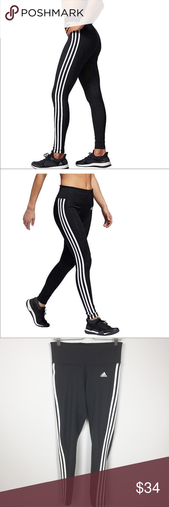 adidas leggings inseam