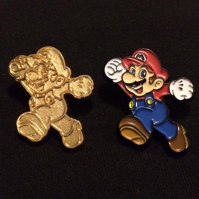 SUPER Mario COLLECTOR PIN SERIE 1-Mario