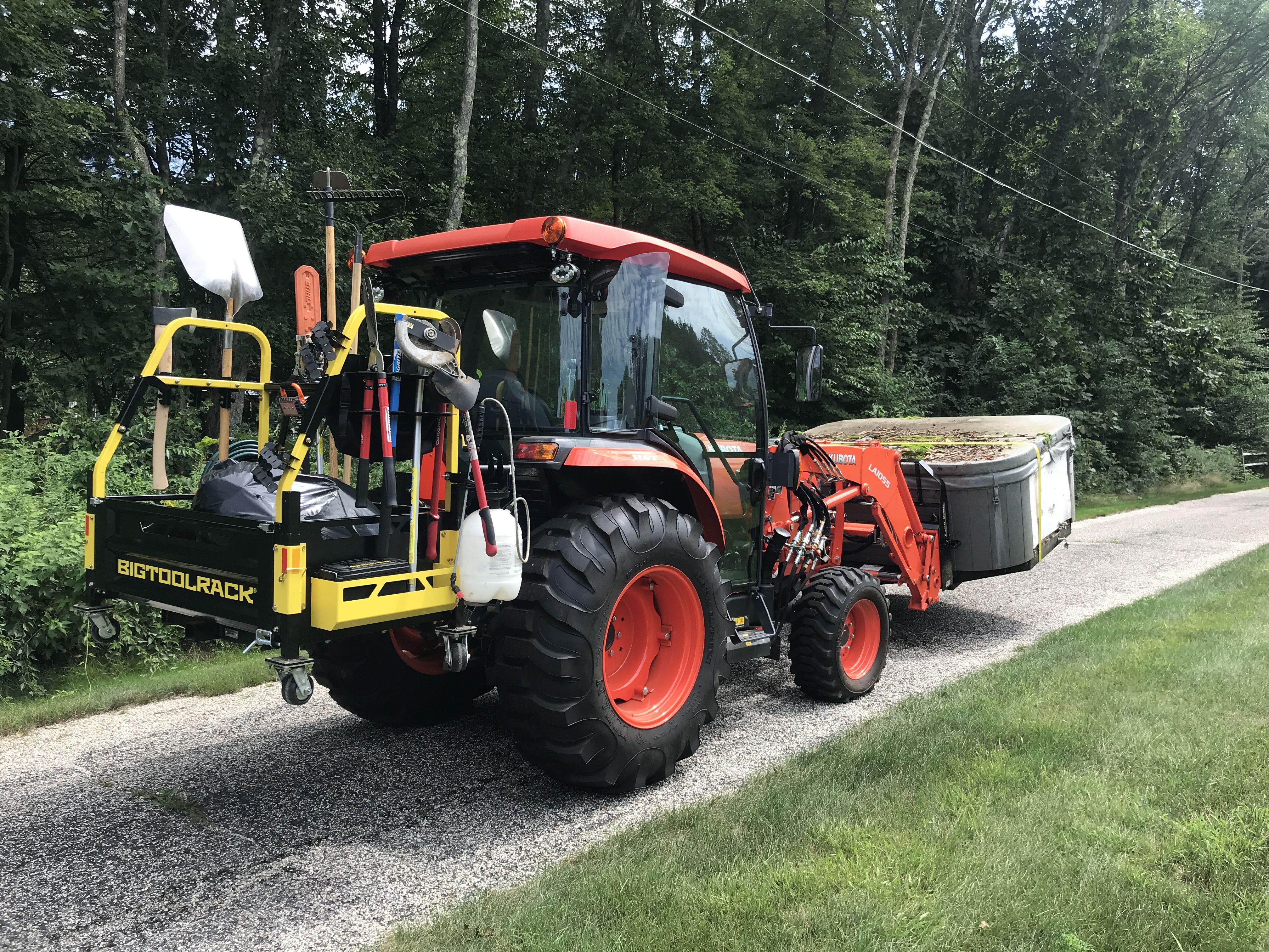 BIGTOOLRACK image by Bigtoolrack Tractor idea, Backyard