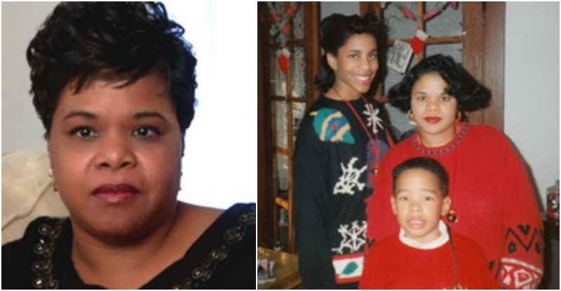 Oprah Winfrey's half-sister Patricia Lofton with son and ...