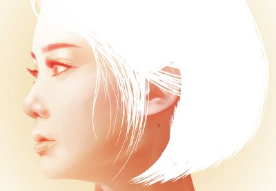 Preview for Create a Summer Portrait From a Stock Image in Adobe Illustrator