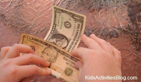 unrolling money