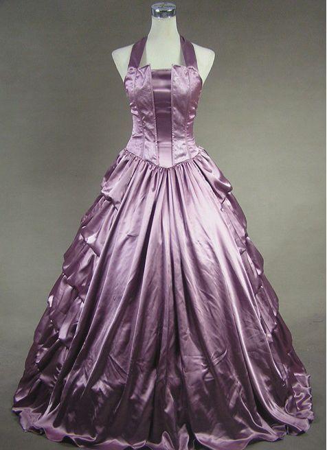 Light purple victorian dress pictures