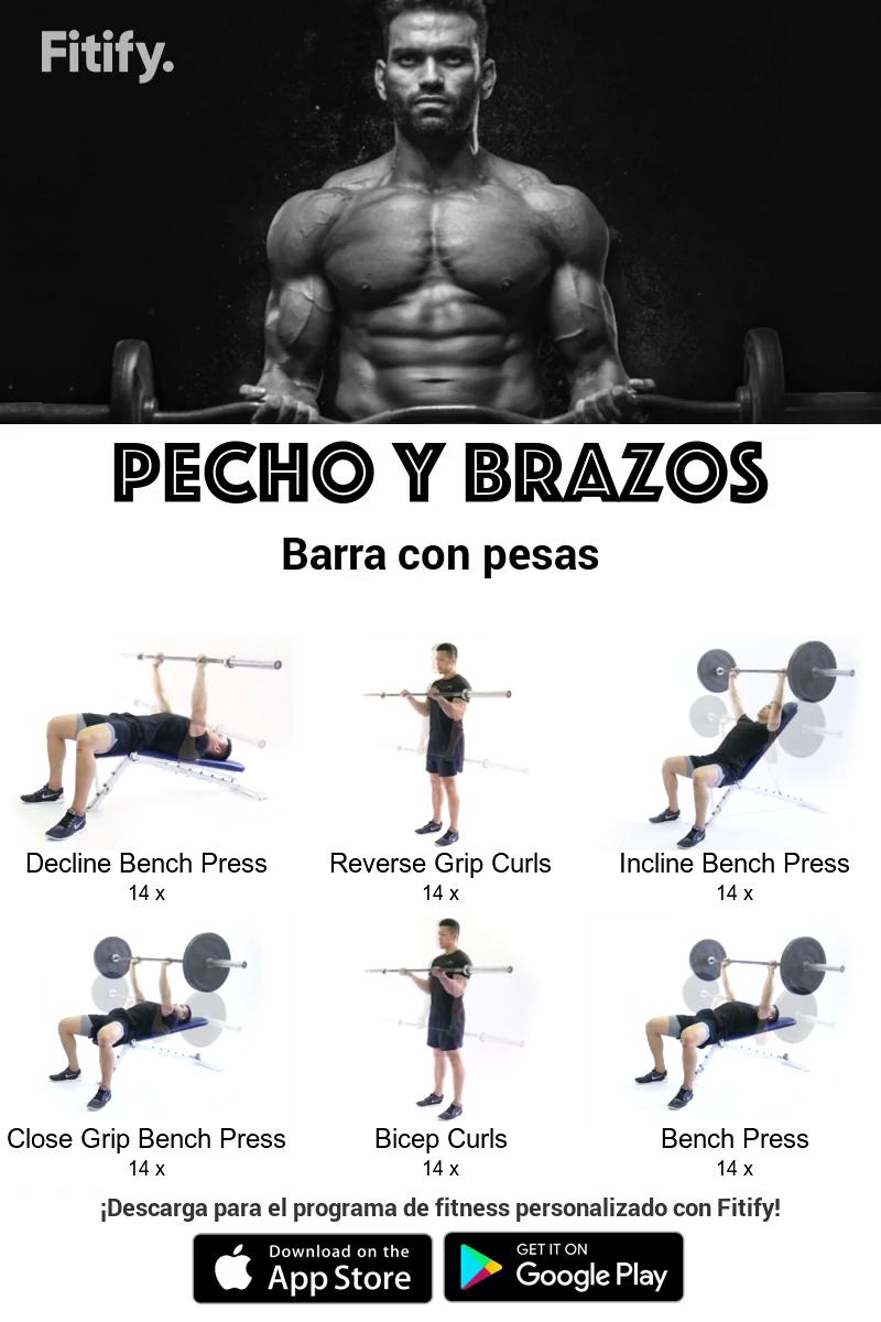 Pin On Ejercicios Con Barra