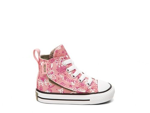 8caedccf1ea8 Converse Chuck Taylor All Star Simple Step Girls Infant   Toddler Velcro  High-Top Sneaker