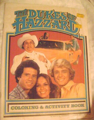 Dukes Of Hazzard Coloring Book #1321 | Pics to Color | Vintage ...