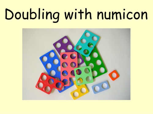 doubling using numicon powerpoint numicon numicon math doubles teaching multiplication. Black Bedroom Furniture Sets. Home Design Ideas