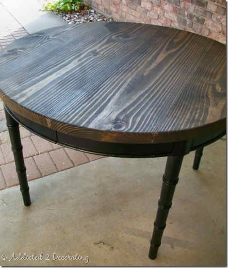 Staining Wood With Tea, Steel Wool And Vinegar
