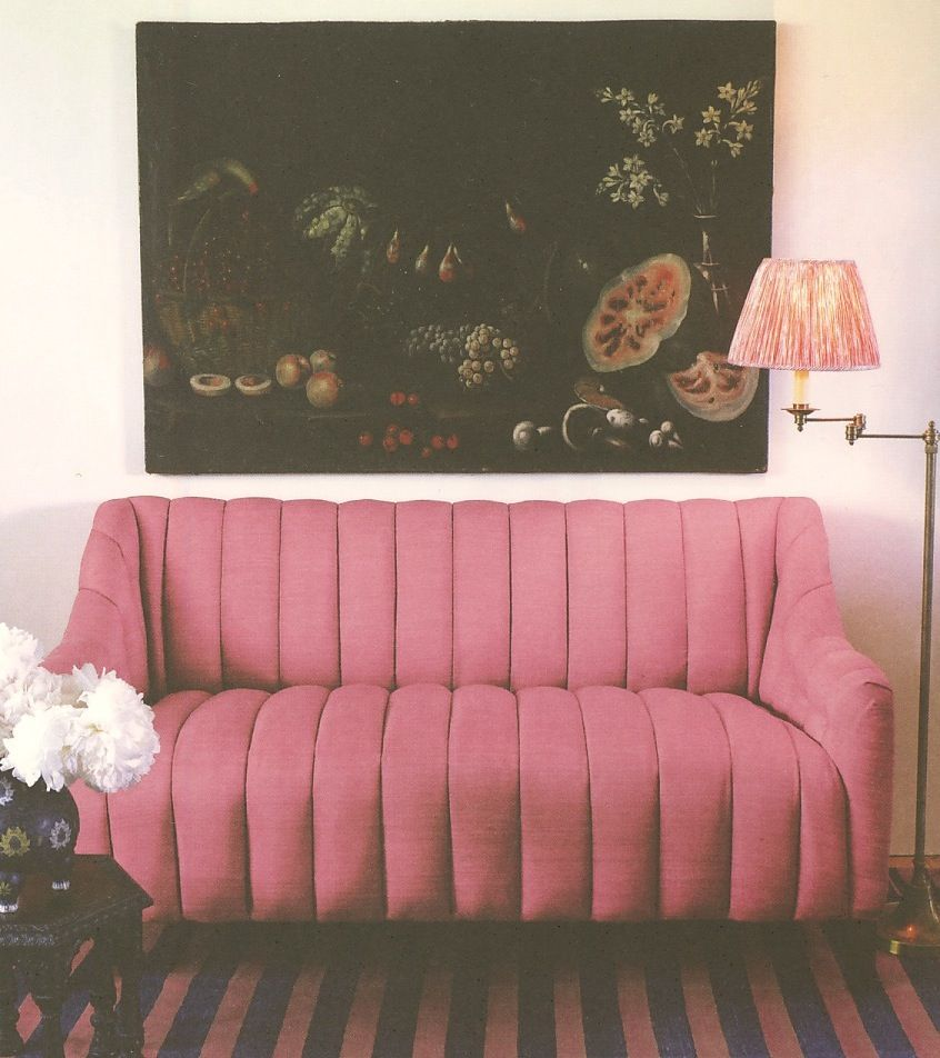 Soane blower banquette! Gorgeous!