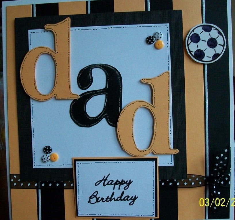 Dad's Birthday Card (With images) Dad birthday card