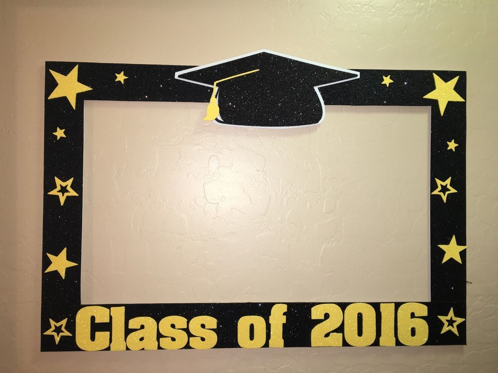 Photo Booth Frame To Take Pictures At Graduate Graduation | photo ...
