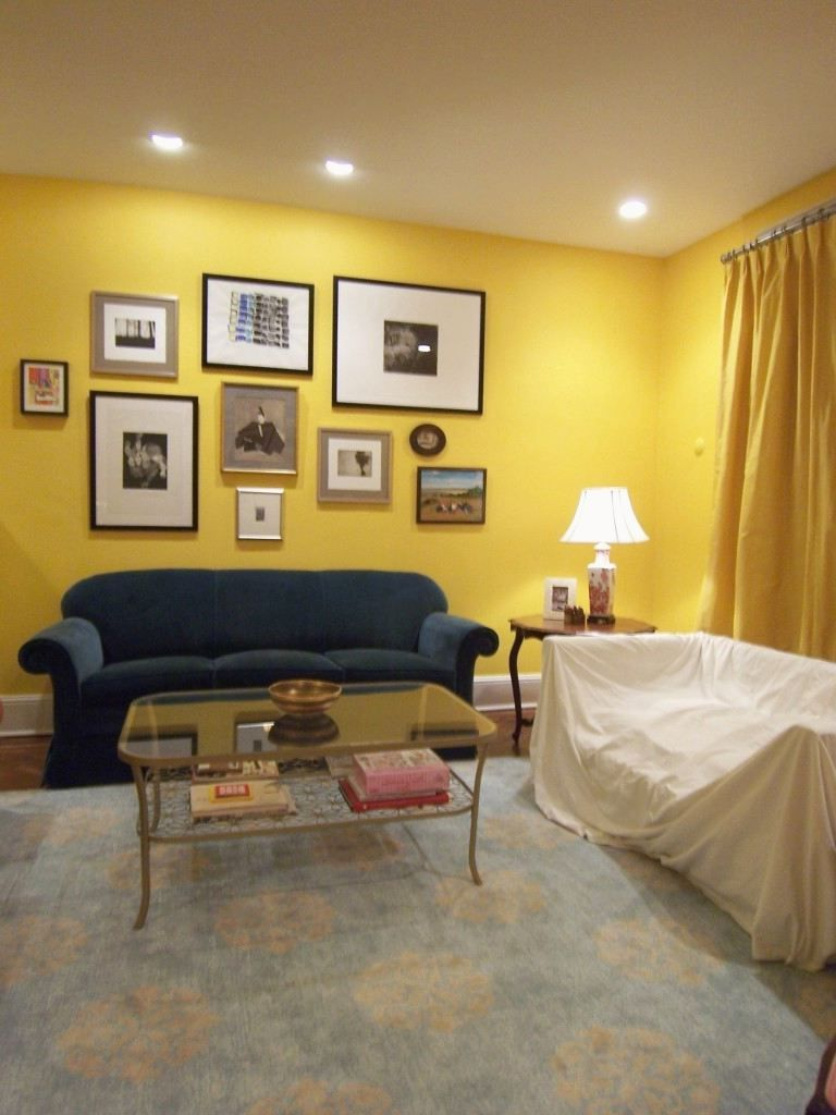 Colors That Go with Yellow | Curtains that go with yellow walls ...