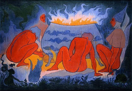 Paul Ranson - Witches around the Fire (1891)