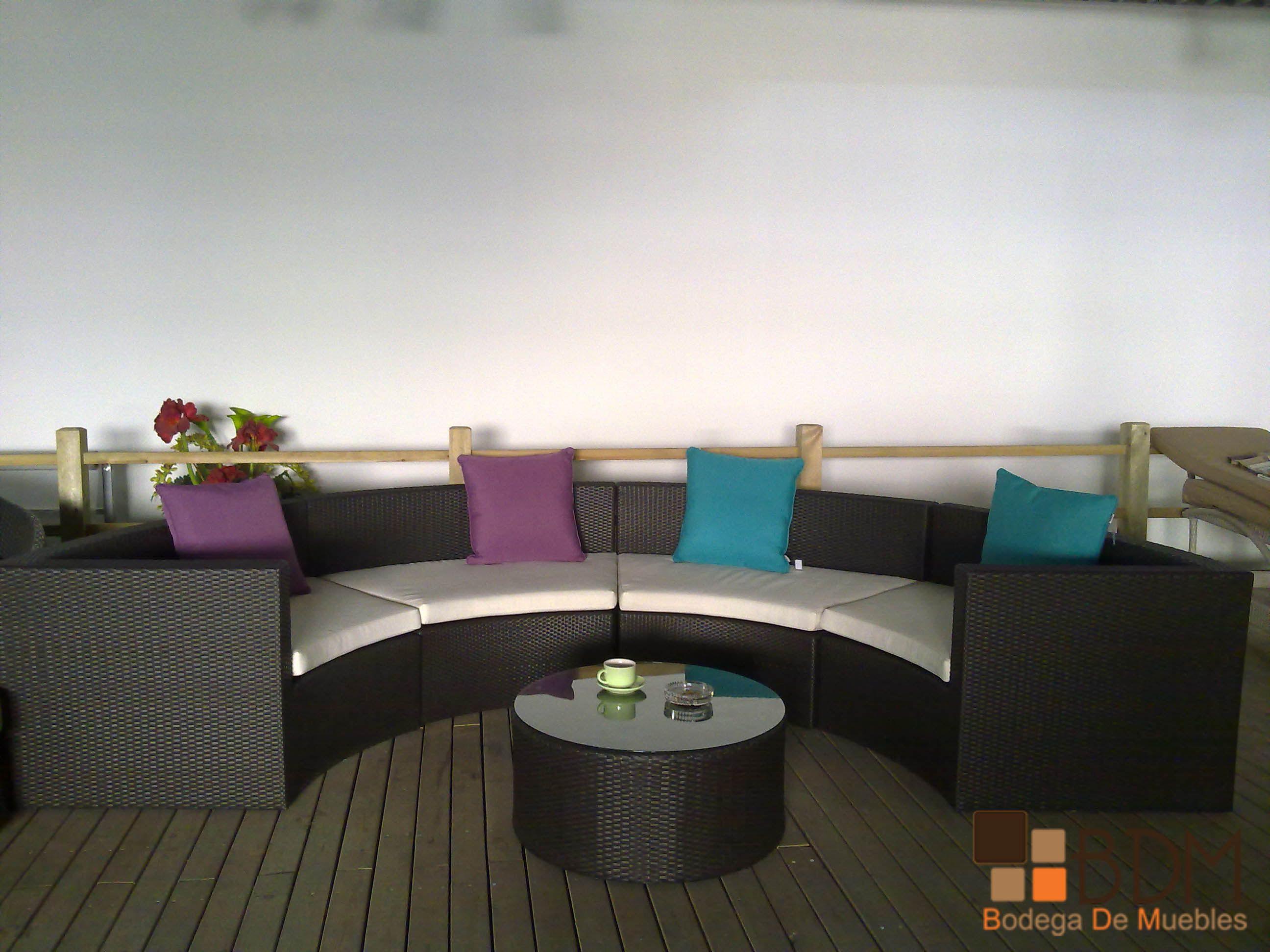 Sala para exterior muebles para playa muebles para - Muebles de playa ...