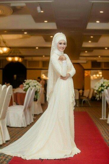 2ae2e3dc3 Hijab fashion Hijabi Wedding, Muslimah Wedding Dress, Hijab Wedding Dresses,  Bridal Hijab,