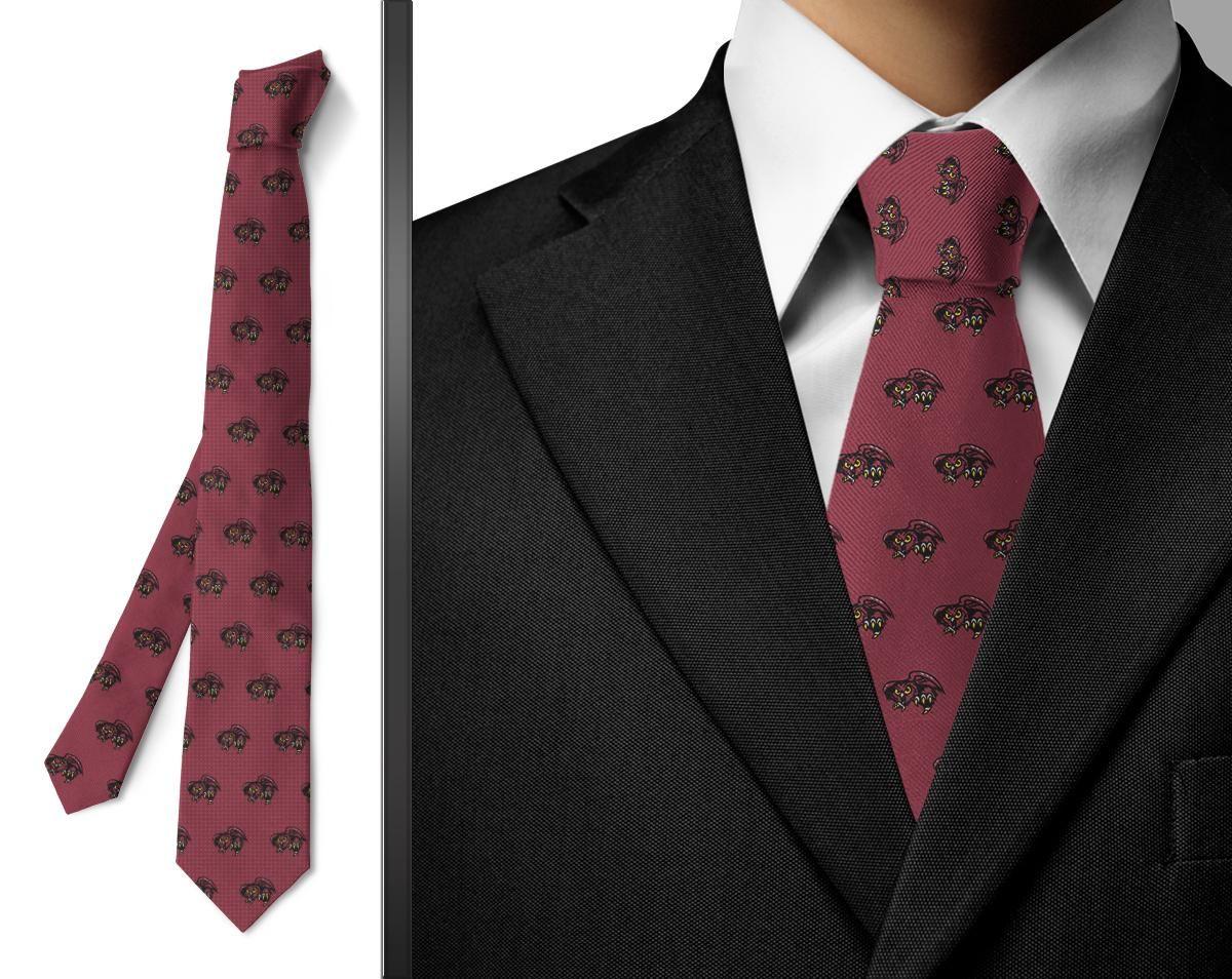 Temple University Owls Wallpaper Tie Red