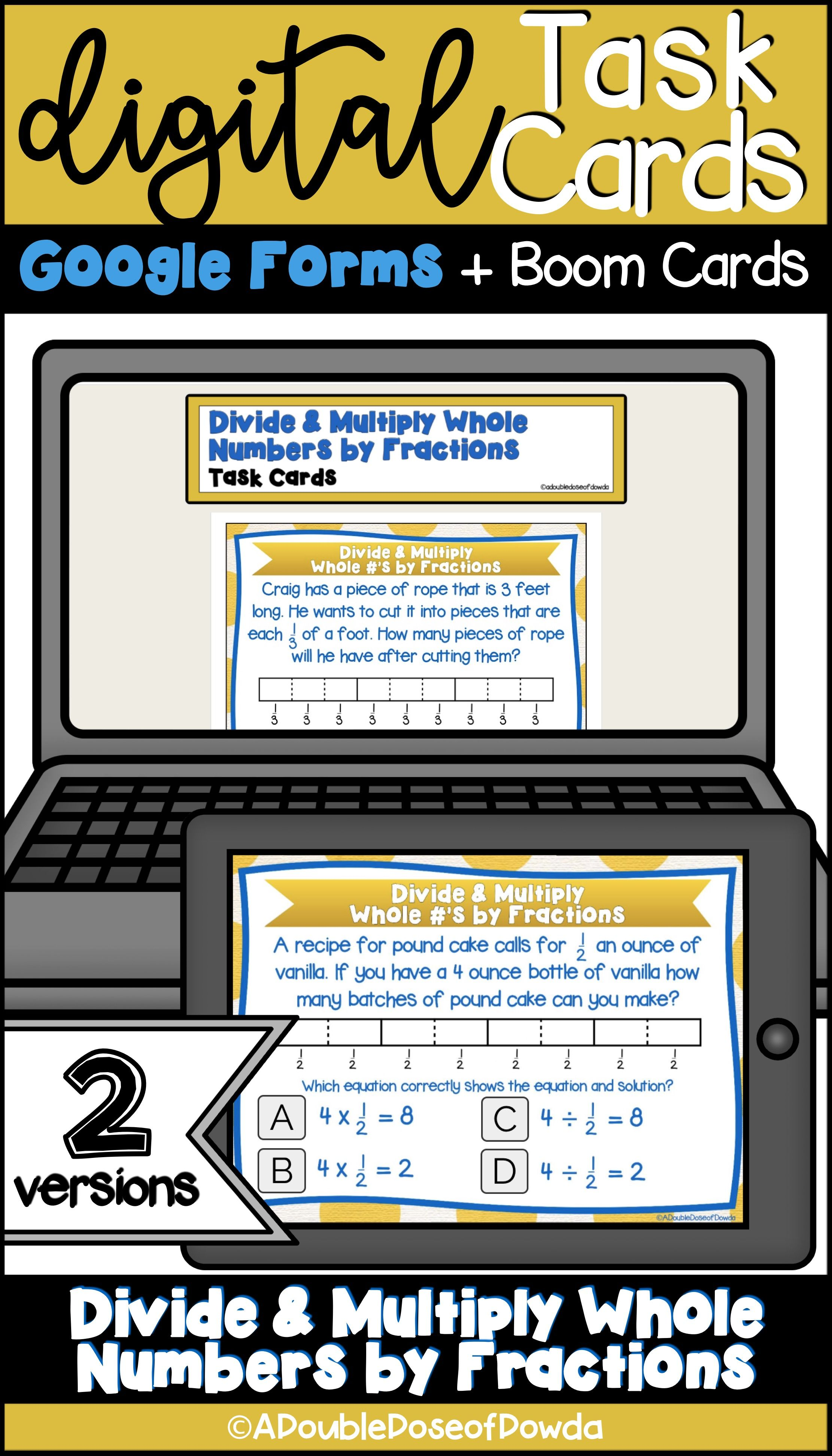 Let Students Practice Multiplying And Dividing Whole