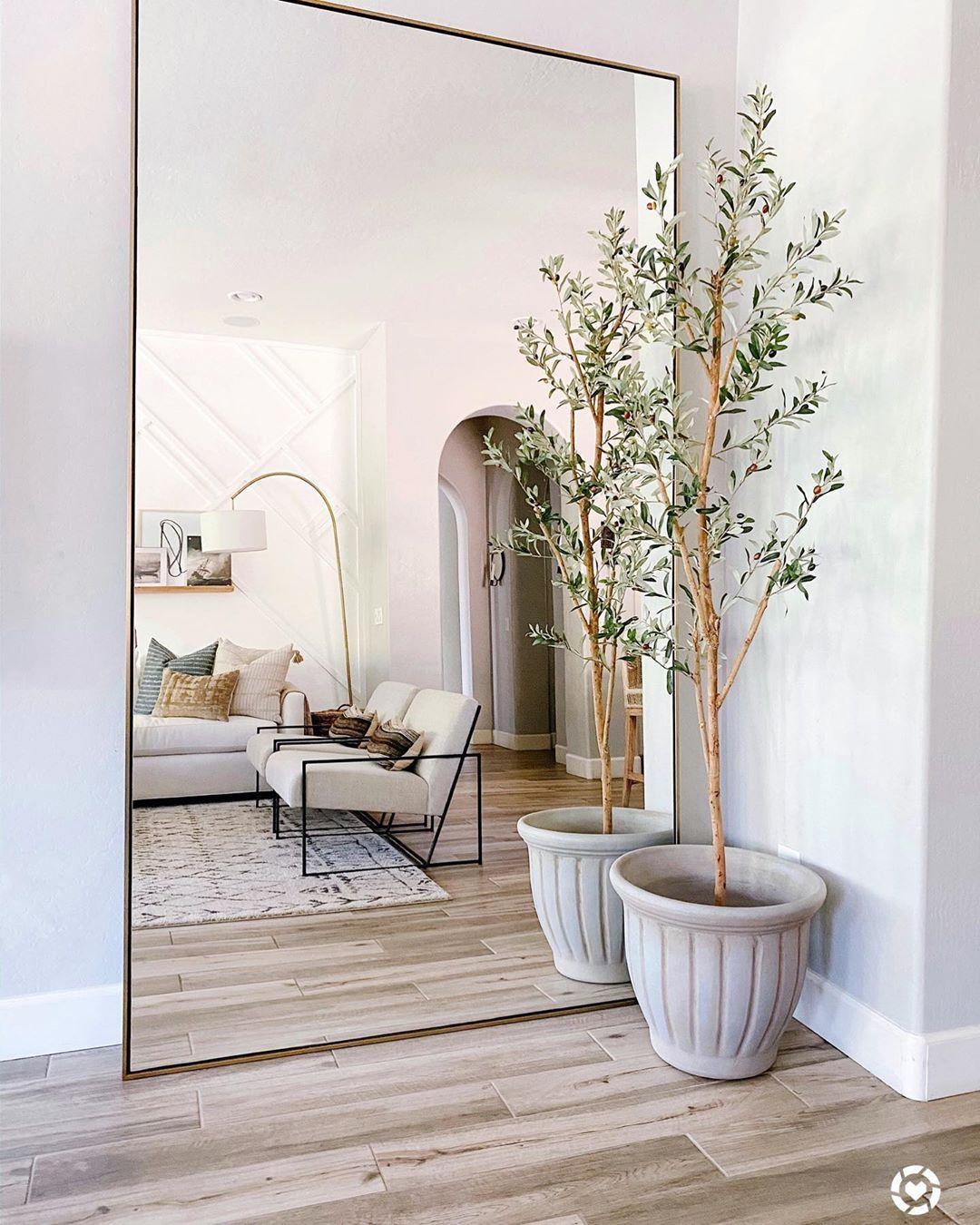 42++ Floor mirror in living room ideas ideas in 2021